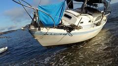 Vessel aground on Bainbridge Island (Coast Guard News) Tags: coastguard sectorpugetsound missingboater bainbridgeisland skiffpoint washington airstationportangeles stationseattle coastguardcutterwahoo scottcaldwell unitedstates us
