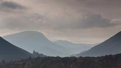 Derwent Water (Explored) (Esox2402) Tags: lake district hills haze trees clouds layers canon6d 70200f4l landscape sky mist