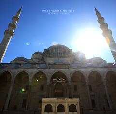 Suleymaniye Sultan Mosque (Rohaan Ali Photographics) Tags: suleymaniye sultan mosque turkey istanbul rohaan ali photography sunlight old