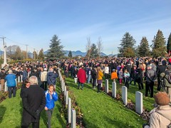 20181111_0204 (Bruce McPherson) Tags: brucemcphersonphotography centumcorpora remembranceday armistice brassband 100piecebrassband livemusic bandmusic brassmusic remembrance armisticeday veteransday mountainviewcemetery jones45 areajones45 commonwealthcemetery remembering honouring wargraves outdoorperformance outdoormusic vancouver bc canada thelittlechamberseriesthatcould homegoingbrassband