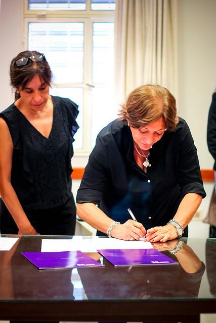Firma de Convenio con Facultad de Psicología UNT | NOV 2018