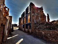 Abandoned town Belchite in Spain (Creativespirit13) Tags: abandonedplaces abandoned spooktown spookie abandonedtown ruins war ghosttown