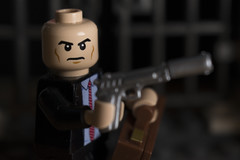 Agent 47 (LegoInTheWild) Tags: moc afol lego hitman sidan brickarms minifigure agent47 videogame games xbox ps4 pc xboxone ps3
