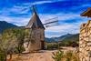 Cucugnan, France - Windmill