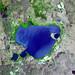 Lake Naivasha, 90km north-west of Nairobi. Original from NASA. Digitally enhanced by rawpixel.