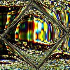 Exprime ta lumière II (Emmanuelle Baudry - Em'Art) Tags: art artwork abstract abstrait artnumérique artdigital digitalart dream rêve arcenciel rainbow carré carreaux squared square light lumière composition couleur colour cosmos cosmic cosmique fenêtre window vision vitre glass emmanuellebaudry emart espace espacetemps space sciencefiction spacetime spiritualité spirituality