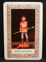 Prince of Wands. (Oxford77) Tags: tarot thenorsetarot norse viking vikings cards card tarotcards
