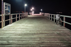Pier (Siebbi) Tags: steg anleger pier coast küste night nacht wood holz