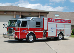 Florence KY   Engine 101 (kyfireenginephoto) Tags: pumper boone county walton eone fire red gray 2015 truck emergency ky florence 101 typhoon i75 union burlington us42 one kentucky cvg hebron emax rescue erlanger ems ffd elsmere federal siren
