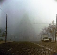 Alexander Nevsky cathedral (Vinzent M) Tags: zniv fog welta weltaflex trioplan 75 sofia bulgaria българия со́фия fuji reala