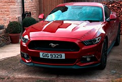 mustang 2 (Mallybee) Tags: ford mustang car cotswolds red mallybee apsc xtrans 1855mm f284 fujinon fuji fujifilm xt3
