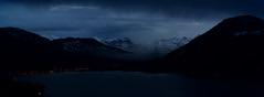 Aegeri by Night (Harald Philipp) Tags: aegeri zug switzerland schweiz nikon d850 aegerisee lakeaegeri glarneralps alps lake alpine night dusk twilight eveninglight morgarten schwyz primelens nikkor clouds sunset fog panorama landscape glarus