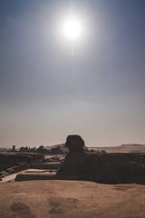 Sphinx, Giza, Egypt (pas le matin) Tags: egypt africa travel égypte world voyage afrique sphinx giza gizeh ruins ruines cairo lecaire ancient pyramids architecture stone pierre sun soleil canon 7d canon7d canoneos7d eos7d