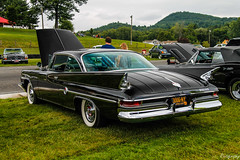 1961 Chrysler 300G (Rivitography) Tags: 300gny newyork 1961 chrysler 300g black american gm generalmotors car classic antique vintage old rare lakeville limerock limerockpark connecticut 2018 canon rebel t3 adobe lightroom rivitography