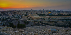 Sunset of the Old City viewed from Mount of Olives - Jerusalem Israel (mbell1975) Tags: il middle east middleeast mount olives mountofolives sunset old city viewed from jerusalem israel night dusk evening israeli יְרוּשָׁלַיִם القُدس jérusalem 耶路撒冷 иерусалим wall walls altstadt historic ancient unesco world heritage site whs worldheritagesite cemeterygraveyardtombstonetombstonesmountolivetהַרהַזֵּיתִיםהַרהַזֵּיתִיםجبلالزيتون الطور har hazeitim aerial