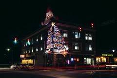 Santa came to town (rpantaleo) Tags: monongahela pennsylvania unitedstates us christmas santa christmaslights