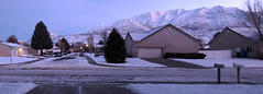 Cold Morning in the Neighborhood (arbyreed) Tags: arbyreed mountain mounttimpanogos snow winter cold