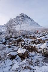 Glencoe, Scotland. (hotspurjohn) Tags: buachailleetivemor glencoe glencoescotland scotland scottishlandscape winter discoverglencoe snow