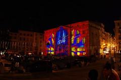 310 août 2018 - Auvergne, Le Puy-en-Velay, l'Hôtel de Ville illuminé (paspog) Tags: france auvergne hauteloire lepuyenvelay illuminations hôteldeville mairie août august 2018