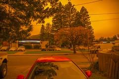 Red Noon in Ukiah, California