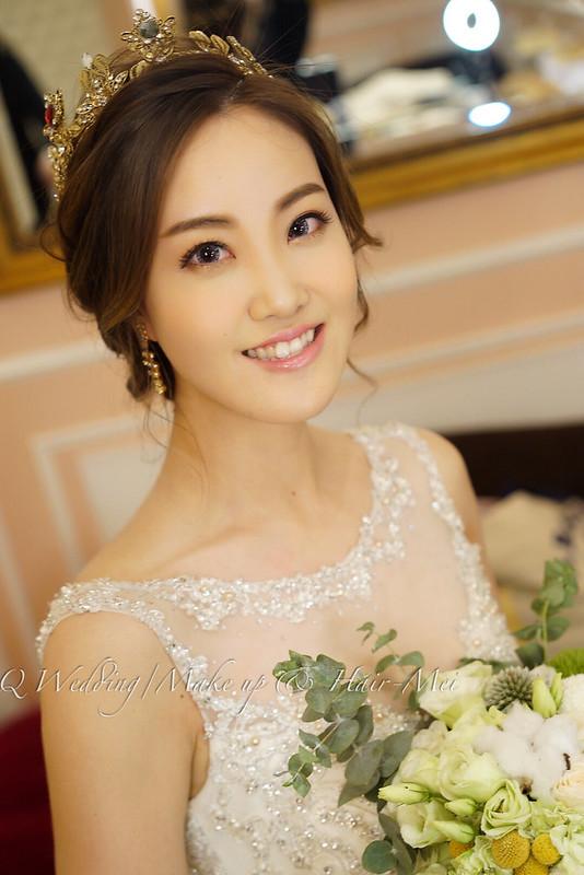 婚禮白紗造型 滕常辰 新娘秘書@台北公館水源會館婚禮