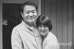 Friends - 11 (oterrason) Tags: friends man woman couple embrace husband wife blackandwhite monochrome monochromatic sony cybershotdscw1 carlzeiss variotessart38114mmf2852 portrait