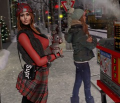 There is no Xmas like in NY. (Katy Hastings) Tags: betrayal doux ddl amias level access rhude blackbantam christmas events snow cute puppy lands url