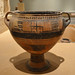 Thessalian Geometric pedestalled krater from Iolkos