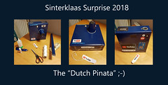 "Sinterklaas Surprise 2018 aka The ""Dutch Pinata"" ;-) (Roger Heële) Tags: party time home fun gifts pinata holland sinterklaas tradition giftsinabox homecraft school"