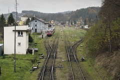 Zagórz, Poland - 2018-11-02 (Maciej Drwięga) Tags: pkp zagórz stacja kolejowa stacjakolejowa pociąg trains podkarpacie