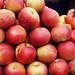 Zagreb fresh market: apples