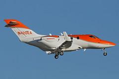N420EA - Honda HA-420 HondaJet - KORL - Oct 2018 (peachair) Tags: n420ea honda ha420 hondajet korl oct 2018 cn 42000016 nbaabace orlando executive airport repainted from red orange