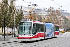 BRN_1810_201811 (Tram Photos) Tags: brno brünn strasenbahn tram tramway tramvaj tramwaj mhd šalina dopravnípodnikměstabrna dpmb škoda 03t skoda anitra astra