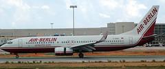 Boeing 737-86J D-ABAE (707-348C) Tags: palmaairport palma lepa airliner jetliner boeing boeing737 b738 dabae airberlin berlin passenger ber pmi spain 2006