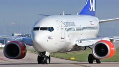 LN-RPF (AnDyMHoLdEn) Tags: sas scandinavian 737 staralliance egcc airport manchester manchesterairport 23l