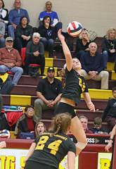 IMG_4777 (SJH Foto) Tags: girls high school volleyball garnet valley north allegheny state semifinals net battle spike block action shot jump midair