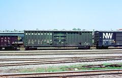 CB&Q Class XML-16 20823 (Chuck Zeiler54) Tags: cbq class xml16 20823 burlington railroad boxcar box car freight eola train chuckzeiler chz