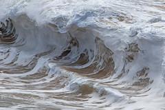 foamy steps (bluewavechris) Tags: maui hawaii ocean water sea swell surf wave lip shorebreak beach foam