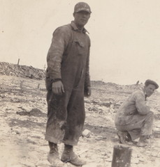 UP Manistique MI c.1908 RPPC RARE George Nicholsons White Marble Lime Company & the Calspar Lime and Stone Company HARD WORKING LIMESTONE QUARRY WORKERS BRAULT PHOTO2 (UpNorth Memories - Donald (Don) Harrison) Tags: