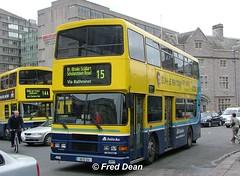Dublin Bus RA213 (95D213). (Fred Dean Jnr) Tags: april2005 dublin dublinbus busathacliath dublinbusyellowbluelivery volvo olympian alexander r collegestreetdublin dublinbusroute15 ra213 95d213 rend m381jgb