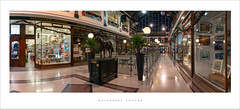 Wayfarers Arcade (Parallax Corporation) Tags: wayfarersarcade panorama wideangle redrum southport seasidetown architecture interiors christmasdecorations shoppingarcade spotight classicseasidetown sonya7rii zeissbatisfe18mmf28