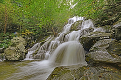Waterfall (Don Mosher Photography) Tags: nature hiking