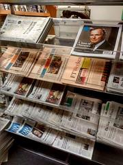 The Newsroom newsstand,  Washington,  D.C., Dupont Circle (Dan_DC) Tags: newsroomdc newsstand washingtondc newspapers newyorktimes newsprint
