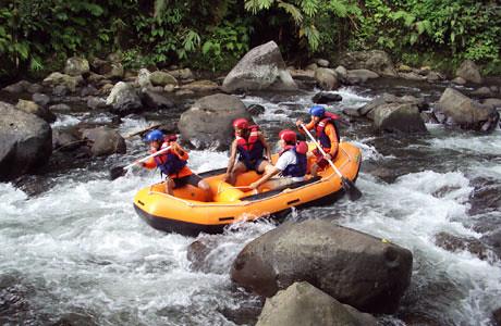 Foto Harga Tiket Kali Paingan, Wisata Rafting di Linggo Asri