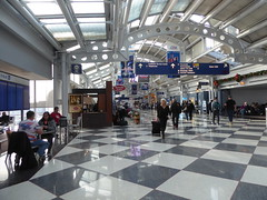 Chicago, O'Hare International Airport, Day 1 -- Caribbean Cruise Vacation, Terminal 1, United Airlines (Mary Warren 12.1+ Million Views) Tags: caribbeancruise hollandamerica architecture building vacation ohare airport people travel