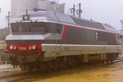 SNCF 72030 CHALINDREY (bobbyblack51) Tags: sncf class 72000 alsthom sacm semt cc diesel locomotive 72030 chalindrey thionville depot 1998