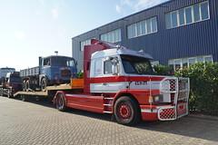 Scania 143M tijdens de  Dag van Historisch Transport in Druten 14-10-2018 (marcelwijers) Tags: scania 143m tijdens de dag van historisch transport druten 14102018 ruck trucks lkw camion vrachtwagen vrachtauto