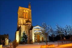 Meschers sur Gironde (patrick_step) Tags: meschers eglise church sonyilce7m3 goldhour illuminations