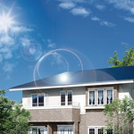 住宅用太陽光発電の導入費用立替販売での発電利益による「発電払い」システムの写真