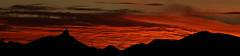 Sunset 1 16 19 #10 panorama (Az Skies Photography) Tags: sun sky skyline skyscape rio rico arizona az riorico rioricoaz arizonasky arizonaskyline arizonaskyscape cloud clouds red orange gold salmon black january 16 2019 january162019 11619 1162019 canon eos 80d canoneos80d eos80d canon80d set sunset dusk twilight nightfall arizonasunset panorama